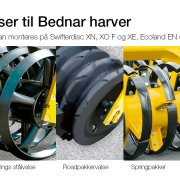 Strom SwifterDisc XO tallerkenharve valser